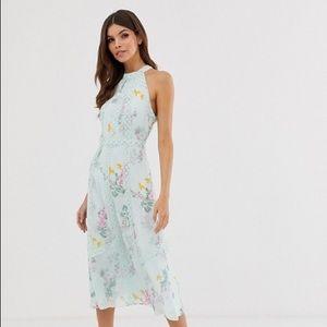 Ted Baker Mini Halter Dress - Brand new Size 4!